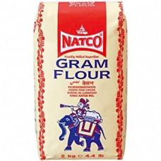 Natco Gram Flour 2 kg x 6