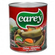 Carey Jalapeños Entero 215 gm x 24