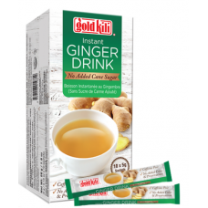 Gold Kili Instant Ginger Drink No Added Sugar 10x5gm x 24