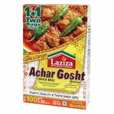 Laziza Achar Gosht Masala 100 gm x 72