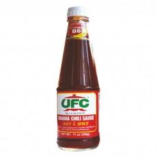 UFC Banana Chili Sauce Hot & Spicy 550g